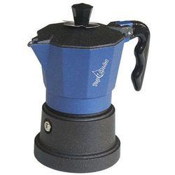 Kawiarka Top Moka TOP 3 filiżanki - czarno niebieska