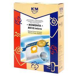 Worki do odkurzaczy K&M Rowenta R010 Micro bag (4 SZT)
