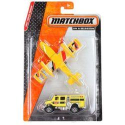 MATCHBOX Samochodzik + samolot