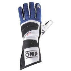 Rękawice OMP Tecnica Evo - Niebieski