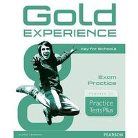 Gold Experience PTP Key for Schools Exam Practice - książka