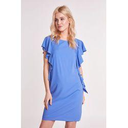 041025ba88 suknie sukienki chi chi london niebieska sukienka z haftem (od ...