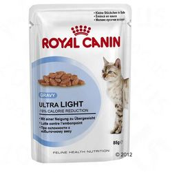 Royal Canin Ultra Light w sosie - 24 x 85 g