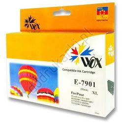 Epson T7901 zamiennik tusz czarny 79XL do WorkForce WF-4630 WF-4640 WF-5110 WF-5190 WF-5620 WF-5690 - 41.8ml