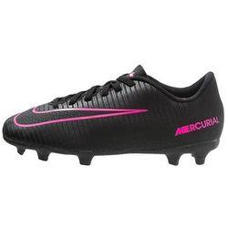 Nike Performance MERCURIAL VORTEX III FG Korki Lanki black/pink blast