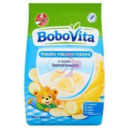 BoboVita Kaszka mleczno-ryżowa o smaku bananowym po 4 miesiącu 230 g