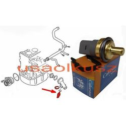 Czujnik temperatury płynu chłodzącego silnik Dodge Caliber 2,0 CRD