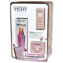 Zestaw Promocyjny Vichy Idealia Life, serum + krem rozświetlający + krem pod oczy GRATIS