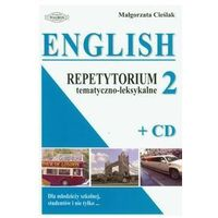 English 2 Repetytorium tematyczno-leksykalne z płytą CD (opr. miękka)