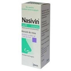 Nasivin soft 0,025% aerozol 10 ml