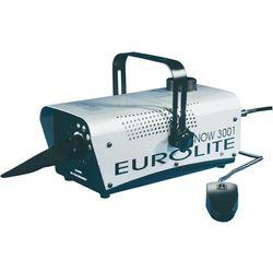 Maszyna do produkcji śniegu, Eurolite Snow 3001, zbiornik 1 l, srebrna