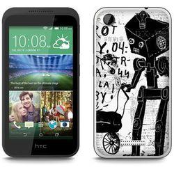 Fantastic Case - HTC Desire 320 - etui - robot