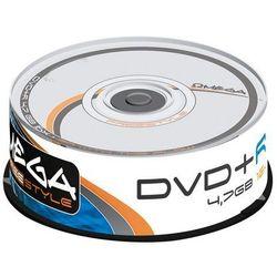 OMEGA PŁYTY DVD+R OMEGA 16X CAKE 25 SZT.