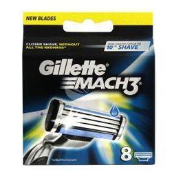 Gillette Mach 3 (M) wkład do maszynki do golenia 8szt