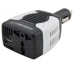 Przetwornica samochodowa 75W USB