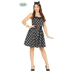 ba1e9b8719 suknie sukienki sukienka pin up rochelle czerwona w kropki w ...