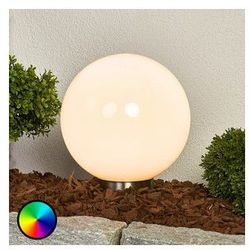 FRIEDERIKA - lampa solarna RGB w kształcie kuli