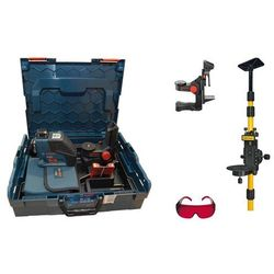 Poziomica laserowa Bosch GLL 2-80 P + BM 1 + statyw + okulary