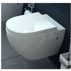 CARLO LUX Miska WC wisząca + deska wolnoopadająca z duroplastu