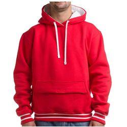 Bluza z kapturem PGwear Old Smuggler Red - męska czerwona