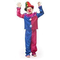Strój Klaun - przebrania / kostiumy dla dzieci - 116 cm