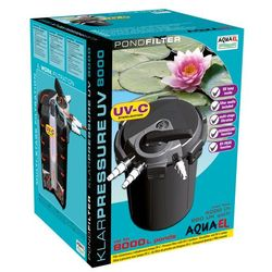 AQUA EL Filtr Ciśnieniowy Klarpressure UV 8000- do 8000L, sterylizator 11W