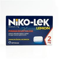 Niccorex Lemon 2 mg 24 szt.