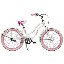 Rower INDIANA X-Cruiser JR Biało-Różowy