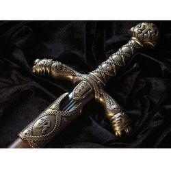 LEGENDARNY I WSPANIAŁY Miecz Ryszarda I Lwie Serce z XII w.