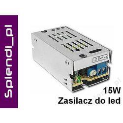 Zasilacz modułowy LED 15W do taśma RGB żarówka 12V
