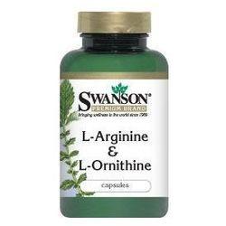 L-Arginina & L-Ornityna 500/250mg 100kaps
