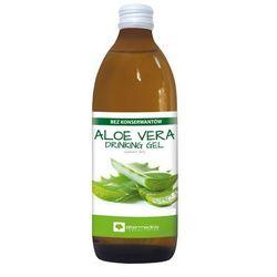 Aloe Vera Drinking Gel Aloes Sok z Aloesu z miąższem bez konserwantów 1000ml
