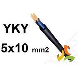 KABEL YKY 5x10mm2 0,6/1kV PRZEWÓD ZIEMNY MIEDZIANY