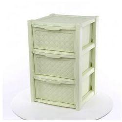 Regał szafka komoda 3 szuflady Arianna seledynowy
