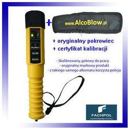 Alkomat policyjny AlcoBlow z pokrowcem, skalibrowany, gotowy do pracy, świadectwo kalibracji