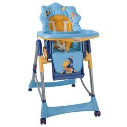 Niebieskie krzesełko do karmienia - Tukan