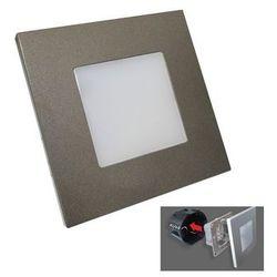 Luxera 48305 - Oprawa schodowa LED STEP LIGHT 16xLED SMD/1W/230V