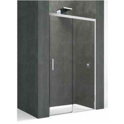 NOVELLINI KALI PH Drzwi prysznicowe 160x195 , profile srebrne, szkło transparentne KALIPH156-1B