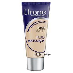 Lirene - Nature MATTE - Fluid matujący-15 - OPALONY