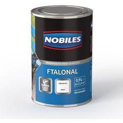 Emalia alkidowa Ftalonal Czarny półpołysk 5L Nobiles