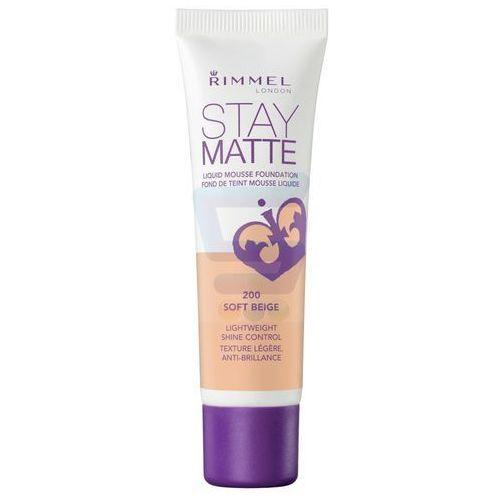 Rimmel Stay Matte Podkład matujący Soft Beige nr 200 30 ml