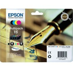 Zestaw Epson T1626 CMYK Multi Pack | WF-2010/25x0