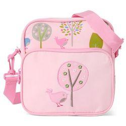 Penny Scallan Design, torba listonoszka, różowa w ptaszki Darmowa dostawa do sklepów SMYK