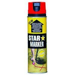 Farba w aerozolu AMPERE Star Marker - czerwony FLUO