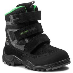 Śniegowce ECCO - Xpedition Kids 70464259657 Black/Black/Black-Concrete