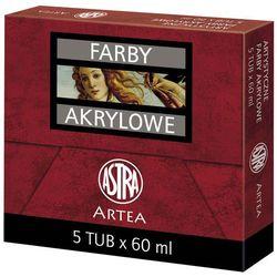 Farby akrylowe ASTRA Tuba 60 ml Ultramaryna Fioletowy