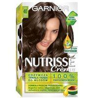 Garnier Nutrisse Creme farba do włosów 40 Ciemny szatyn