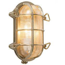 Kinkiet/ plafon Nautica 1 owalny złota
