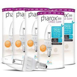 Zestaw 5 żarówek Pharox LED lampen E14 3.5W 200lm przezroczyste ściemnialne