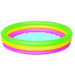 Bestway, basen dmuchany, trzy kolory, 152x30 cm Darmowa dostawa do sklepów SMYK